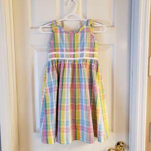 Lilly Pulitzer Plaid Dress 8